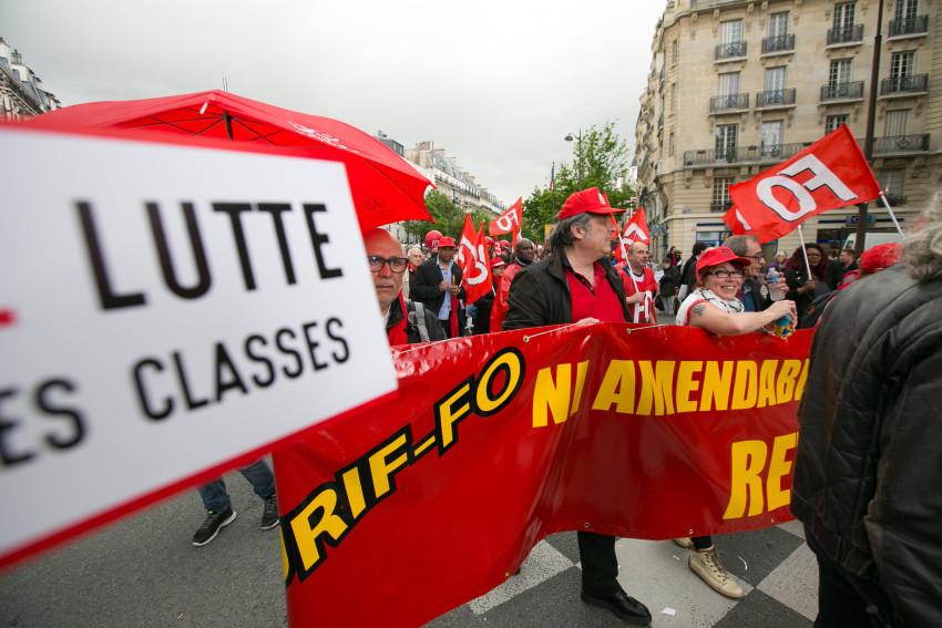 Manif du 12 mai 2016 à Paris